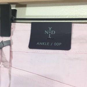 NYDJ Jeans - NYDJ Clarissa Pink Stretch Skinny Ankle Jean